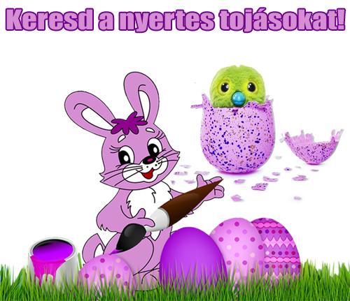 Húsvéti tojáskeresõ játékra hívunk!