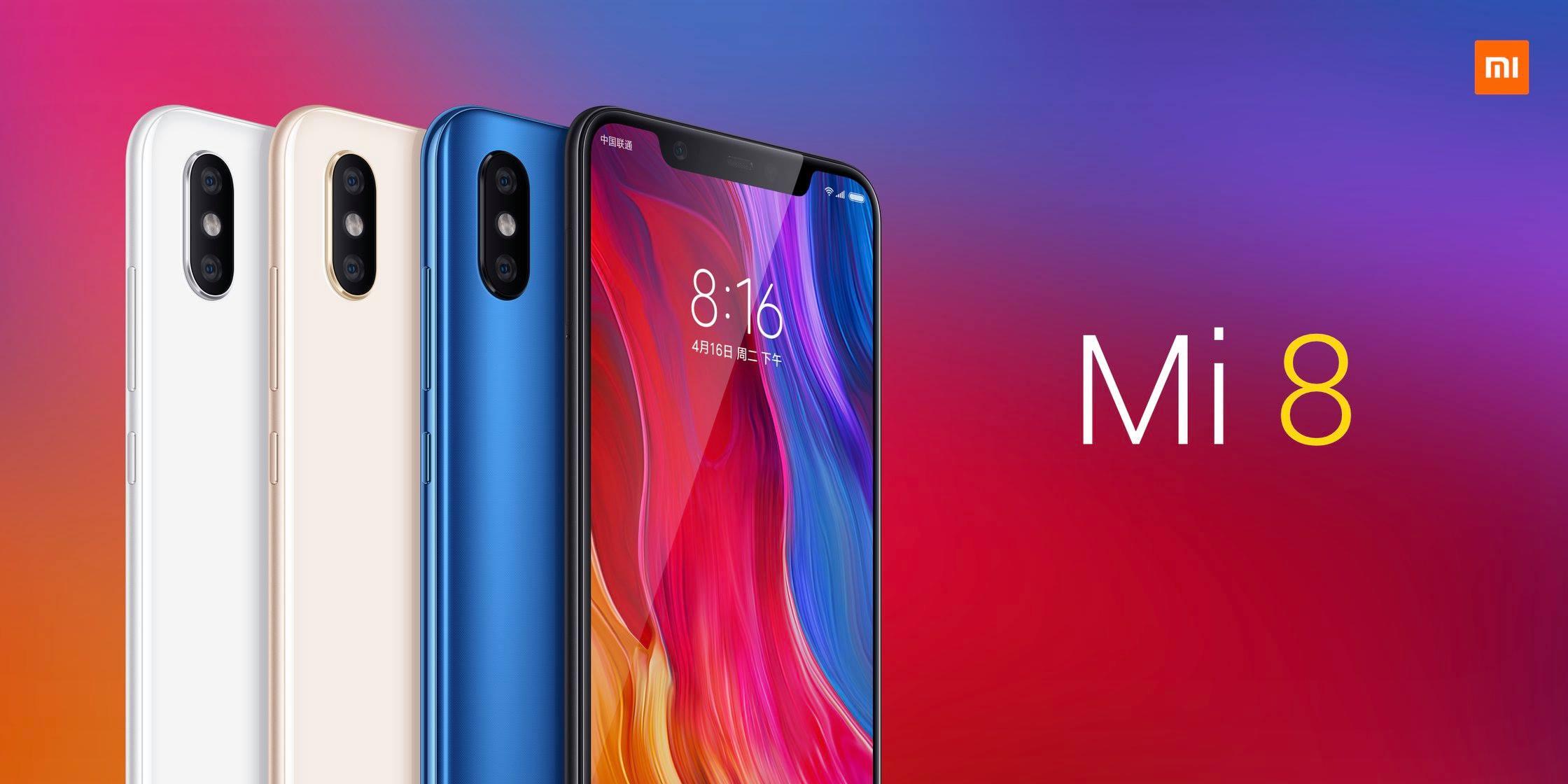 Bemutatták Xiaomi MI 8-at!