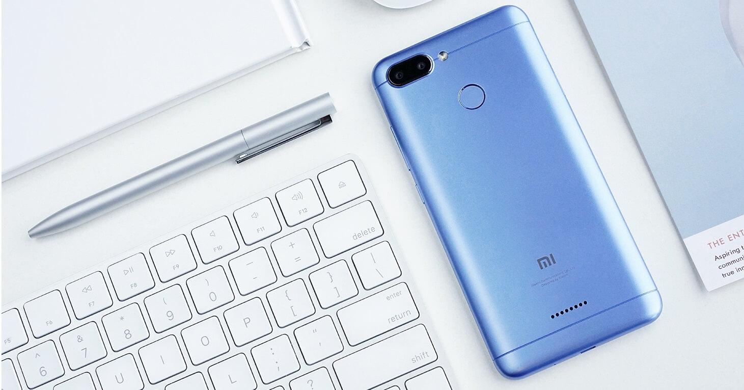 Új készülék a Xiaomitól.: Redmi 6