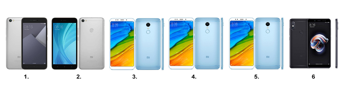 Xiaomi Redmi Note 5, Redmi 5 Plus, Redmi Note 5A, Redmi Note 5A Prime, Redmi Note 5 Pro hányféle van? Ideje rendbe tenni!