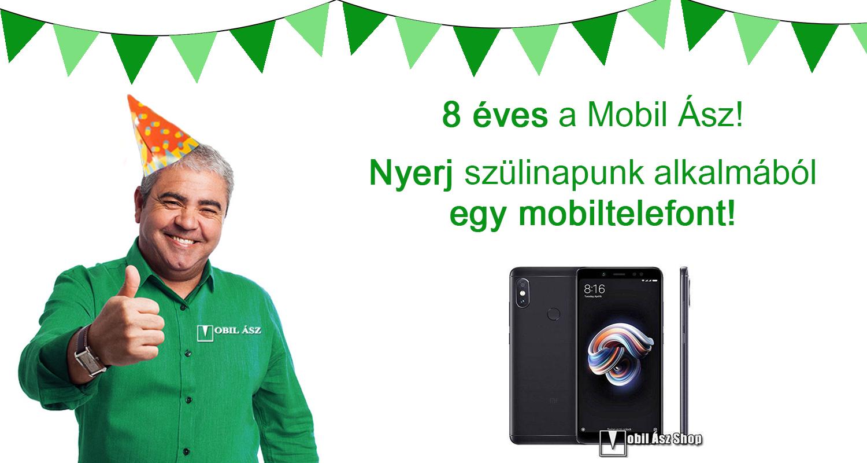 Nyerj egy mobilt a Mobil Ásztól!