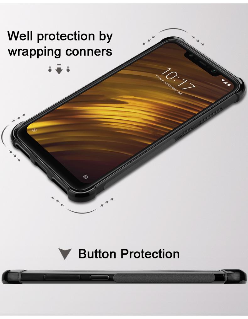 Az Imak Vega Carbon mobiltok oldalgomb védelemmel