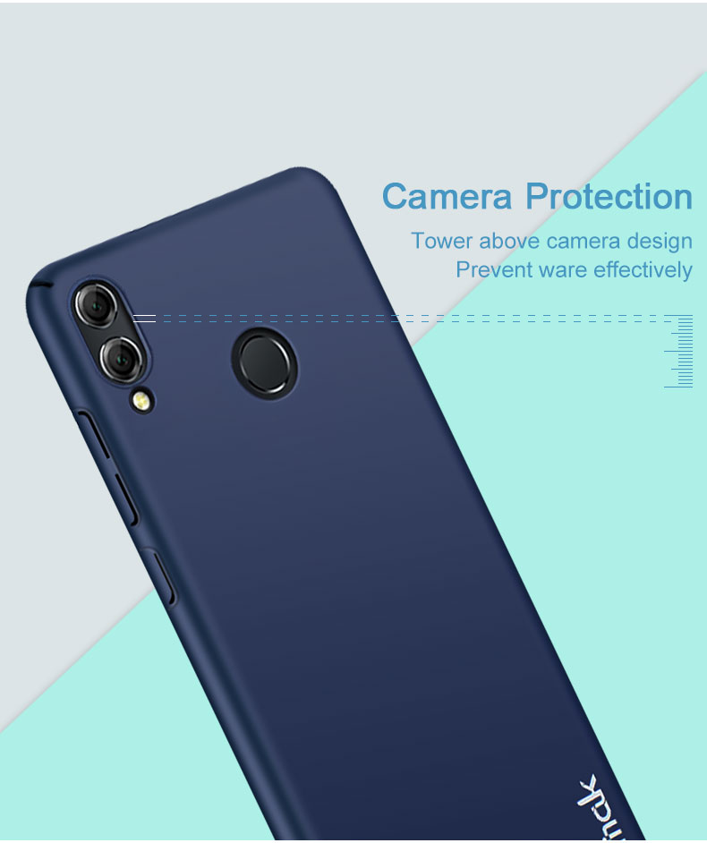 Imak Jazz Skin műanyag telefonvédő kamera védelem