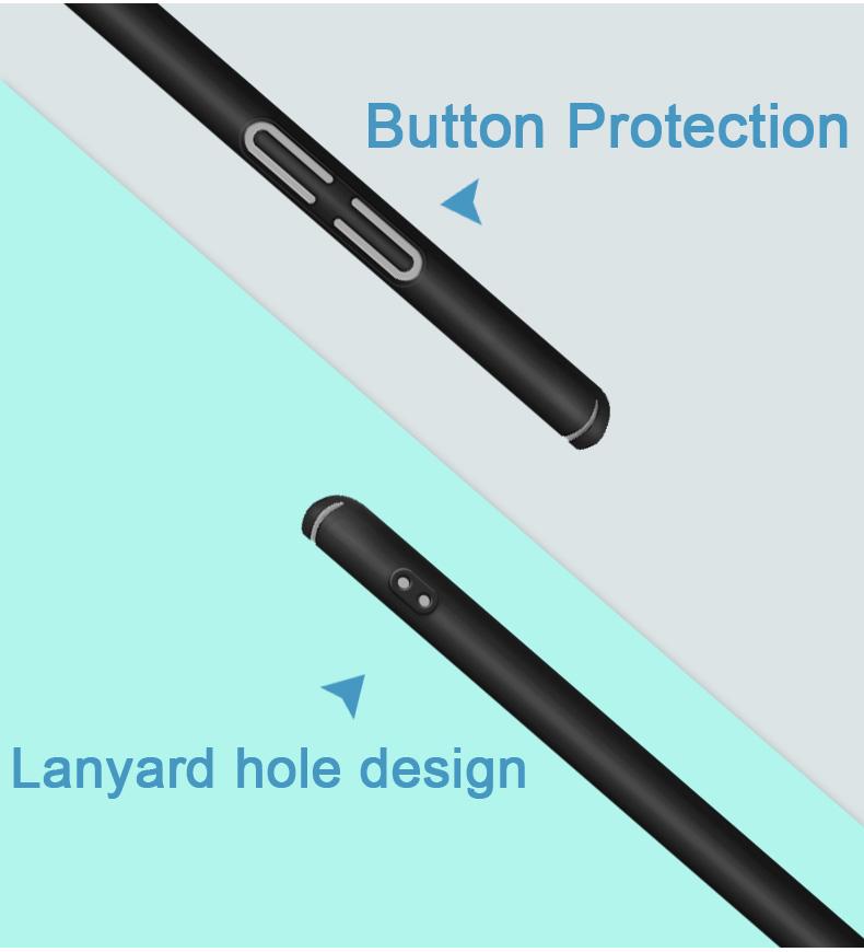 Mofi Shield Slim műanyag telefonvédő oldalgomb védelemmel